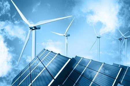 Logistik für erneuerbare Energien. Transporte im Bereich Solarmodule, Windkraft, Wasserkraft.