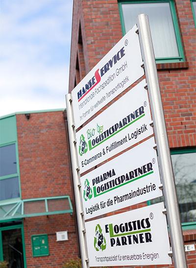 Logistik in Hamburg - Deutschland | Zentrale der Hanse Service internationale Fachspedition GmbH