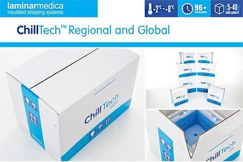 Chilltech Thermotransport Kuehltransporte Verpackung bei der Hanse Servie GmbH